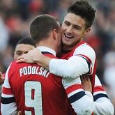Fantastyczny Giroud prowadzi Arsenal do zwycięstwa