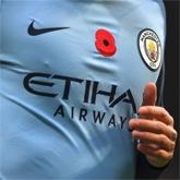 Sponsorzy na rękawach koszulek Manchesteru City