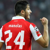 Olympiakos odrzucił ofertę za Manolasa