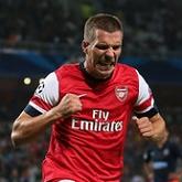 Podolski szczęśliwy w Arsenalu
