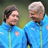 Wenger: Rosicky był perfekcyjnym piłkarzem