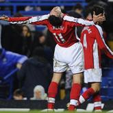 Van Persie wypatruje łuku Wembley