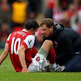 Metody treningowe Arsenalu zaszkodziły van Persiemu?